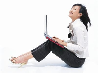 online shoppeuse