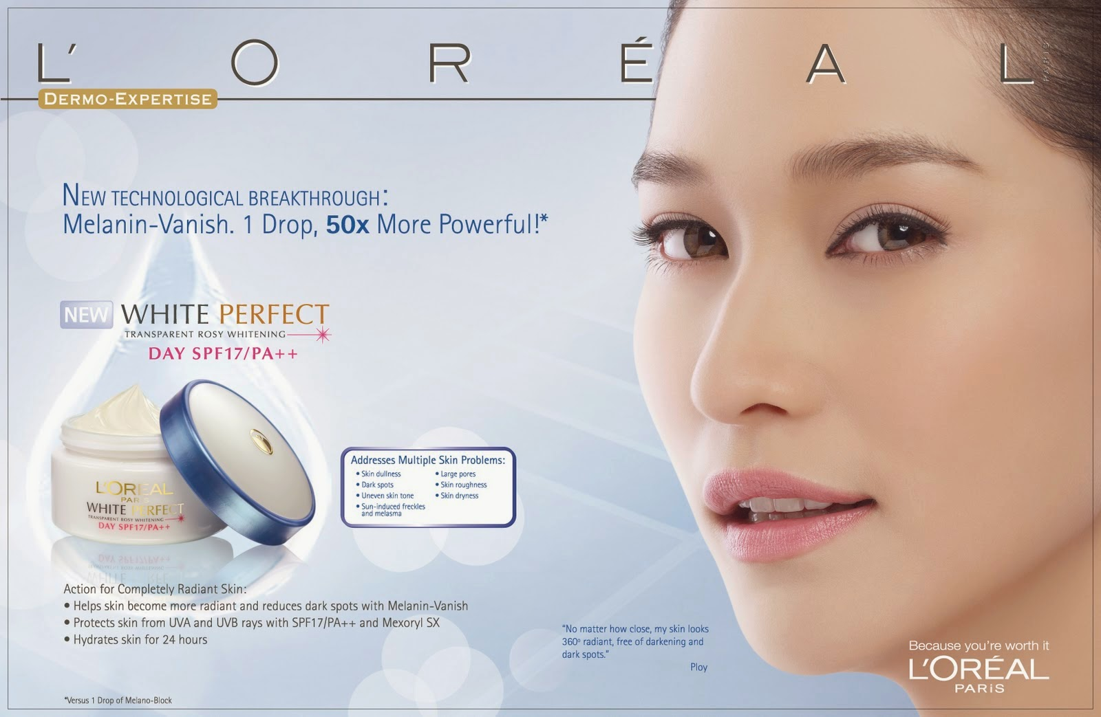 L'OREAL White Perfect DPS_17x11 3rd