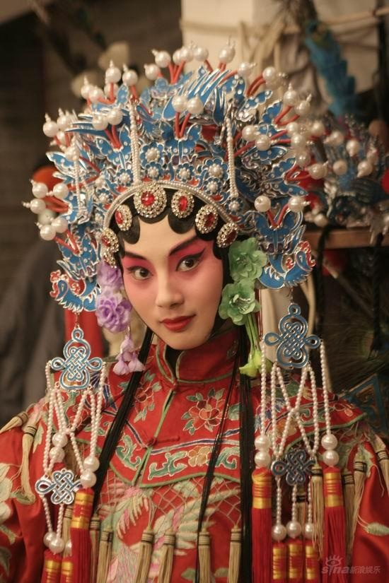 traditional opera look