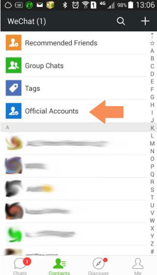1.-WeChat-account