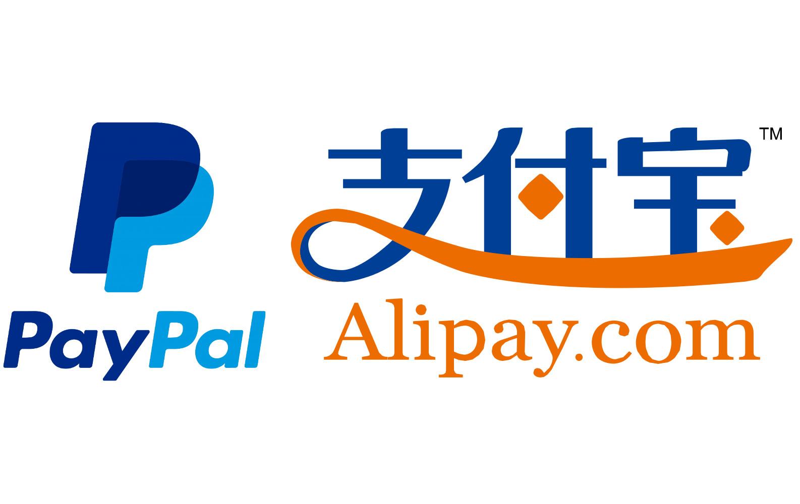 paypal alipay