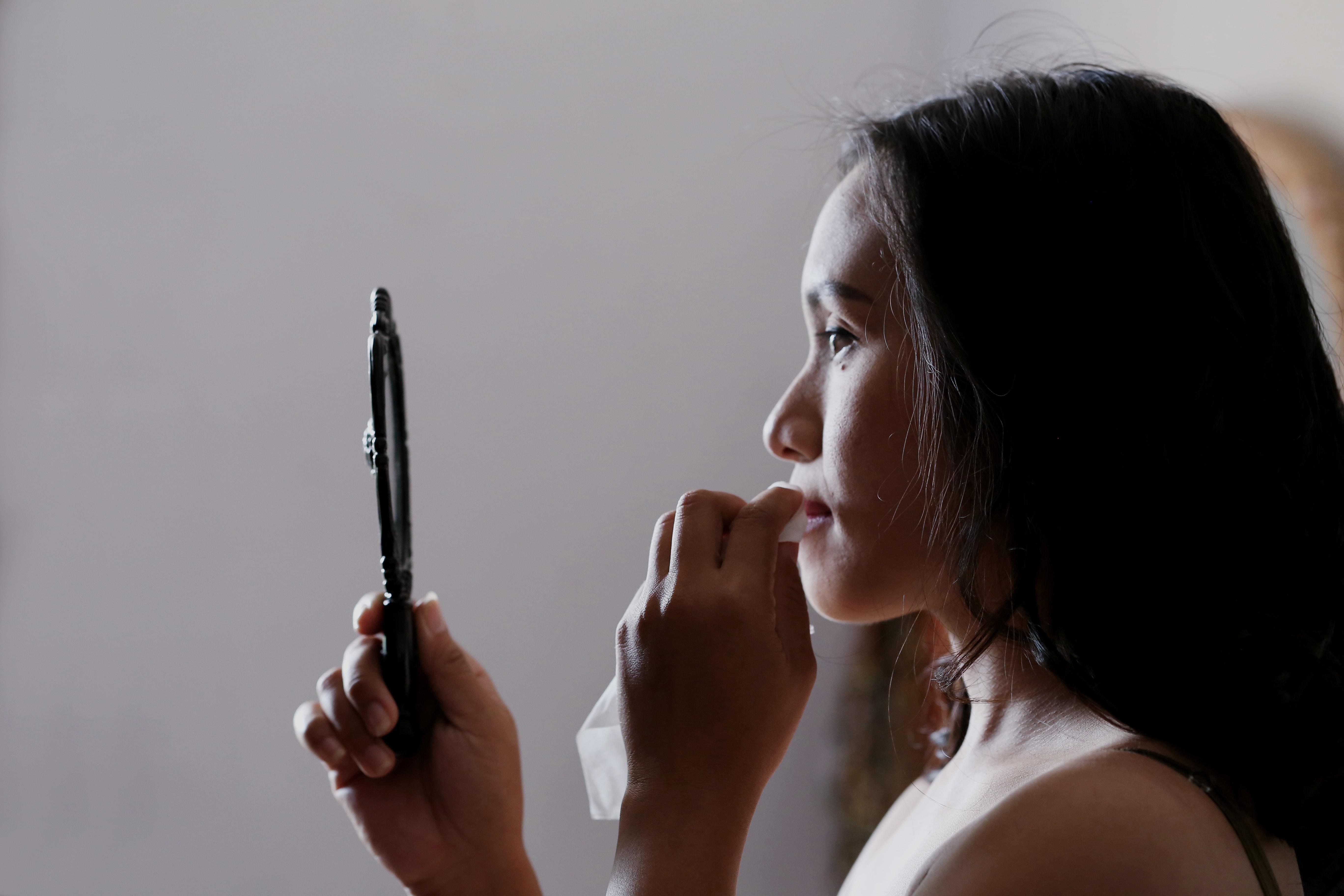 lipstick in China