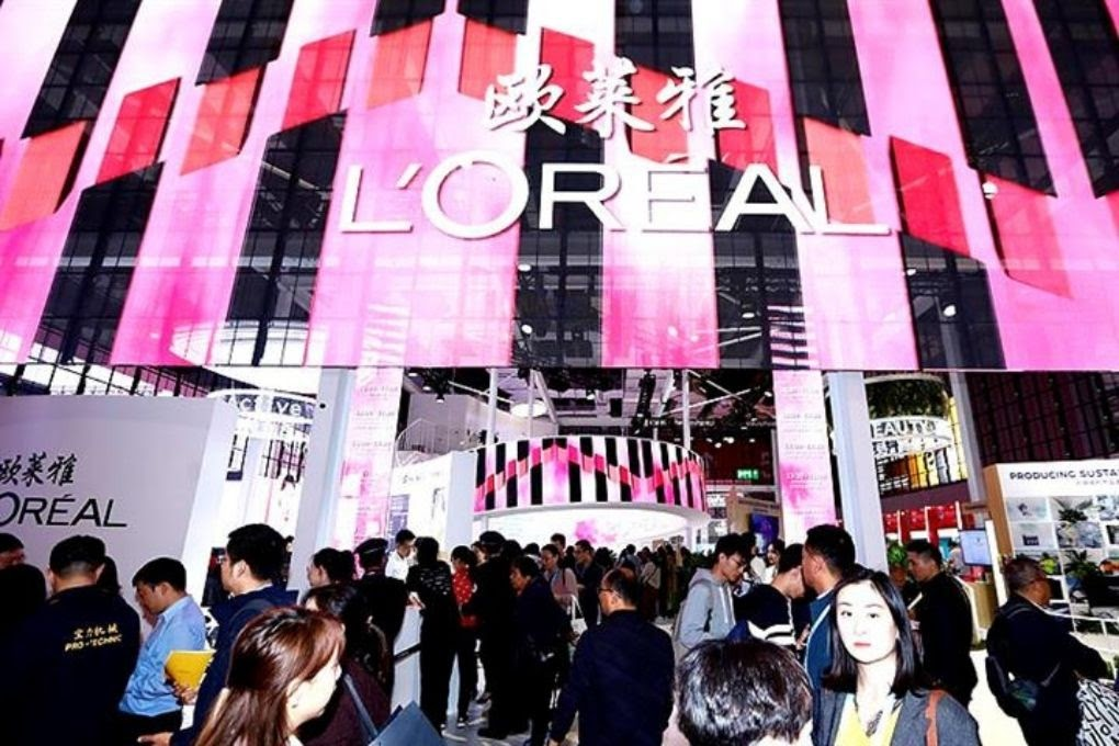 L'Oréal Store in China